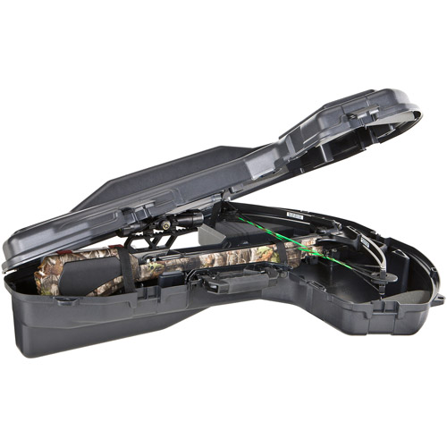 Plano Crossbow Carrying Case BowMax PillarLock, Black by Plano