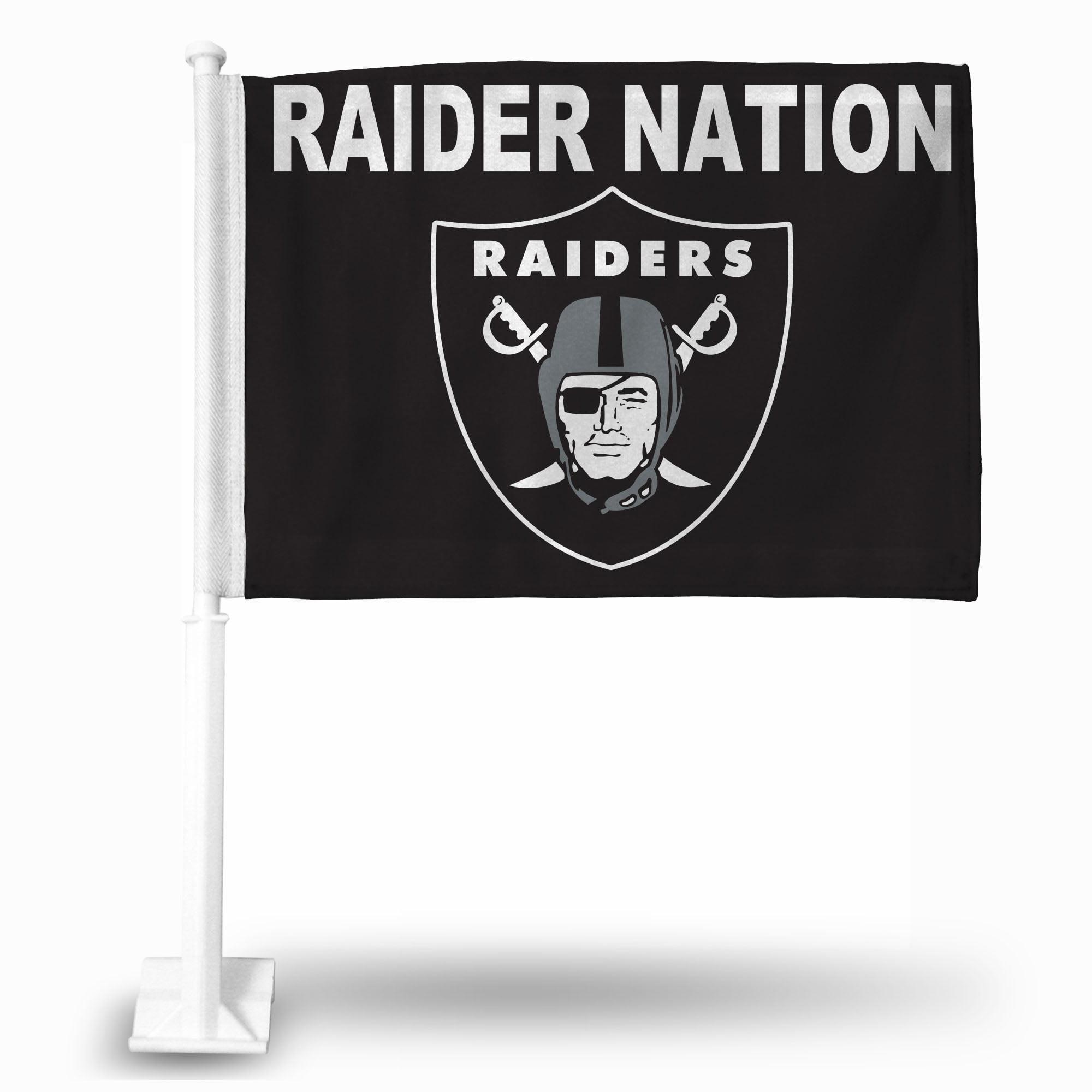 NFL - Oakland Raiders Car Flag