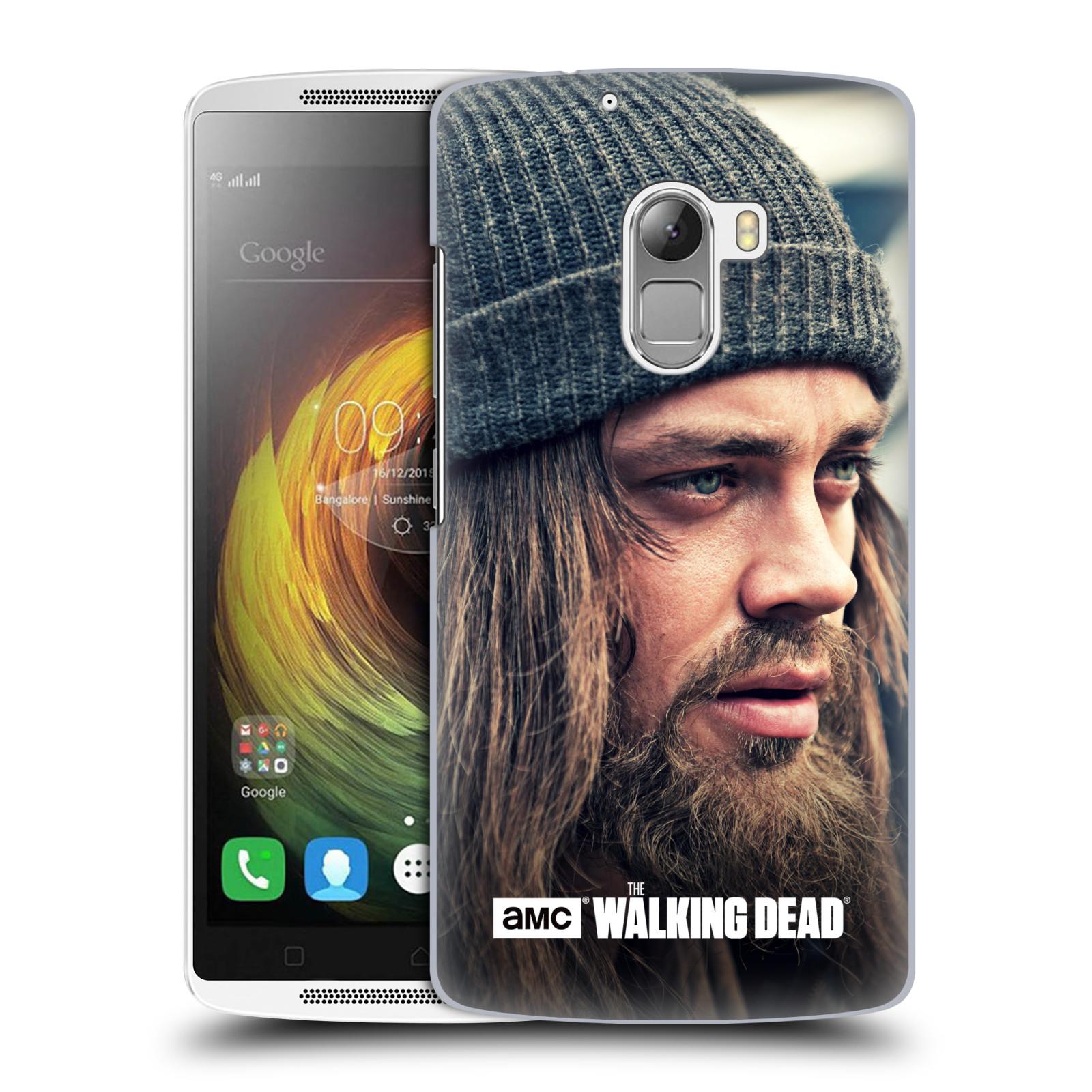 OFFICIAL AMC THE WALKING DEAD JESUS HARD BACK CASE FOR LENOVO PHONES