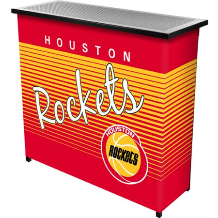 Houston Rockets Hardwood Classics NBA Portable Bar with Carrying Case by