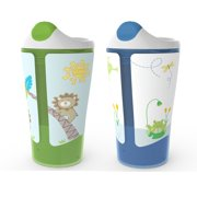 Born Free Grow with Me 1 oz Sippy Cup 2-Pack - Boy