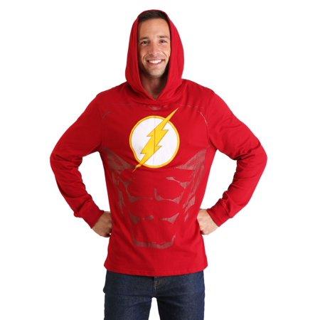 Men's The Flash Cosplay Light Weight Hoodie