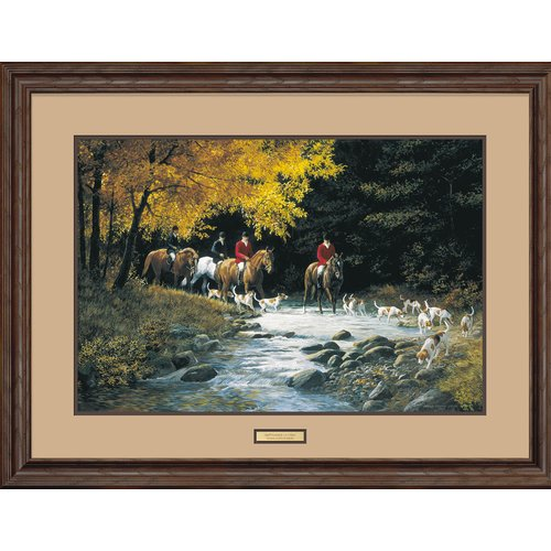 Wild Wings September Outing by Persis Clayton Weirs Framed Painting Print by