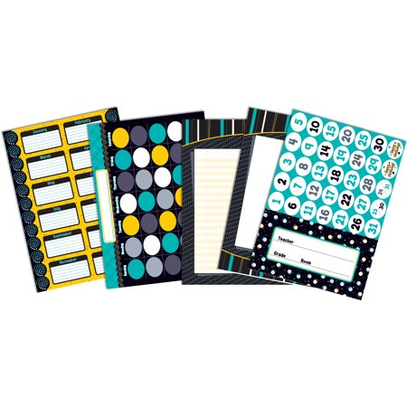 Black, White & Bold Bulletin Board Set