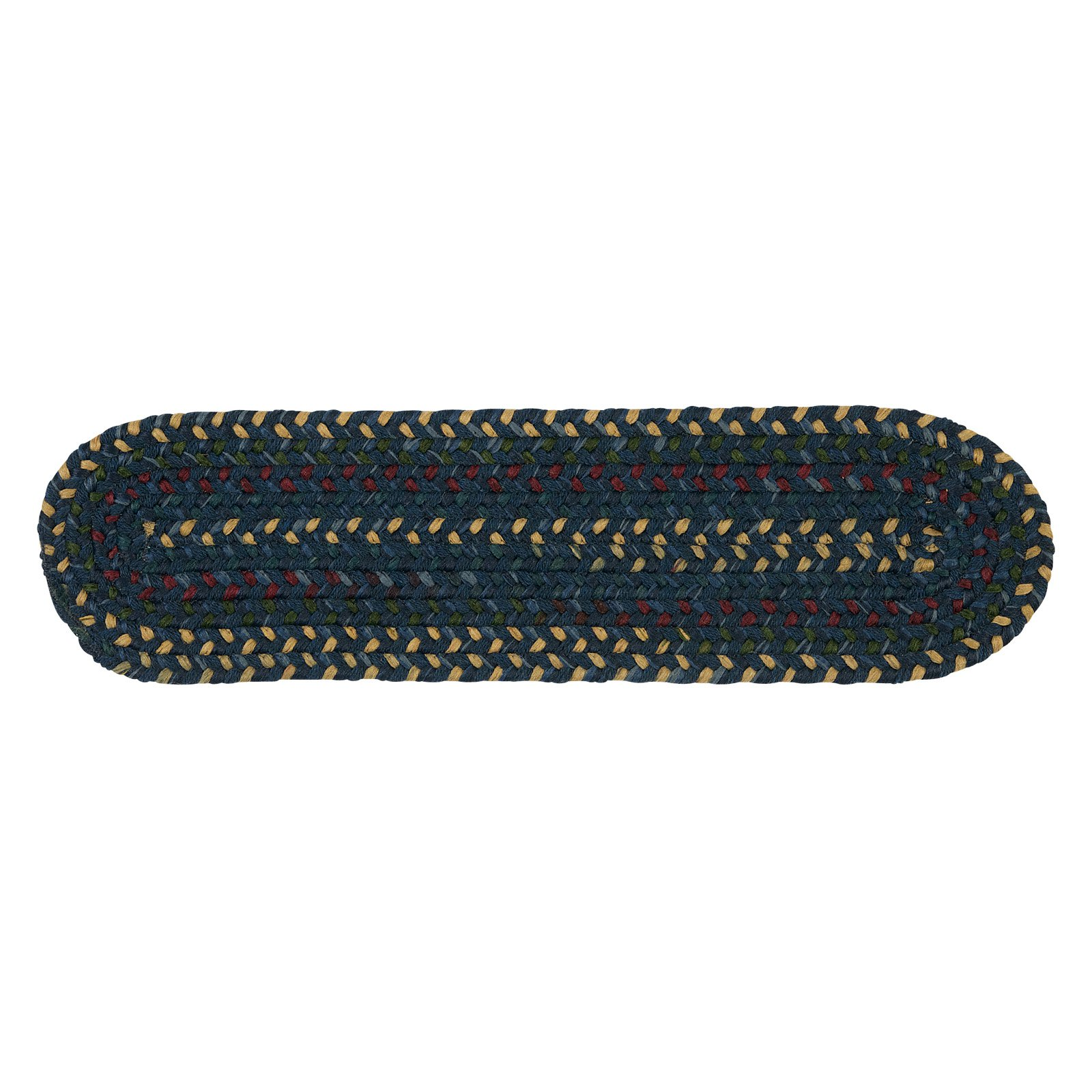 Colonial Mills Midnight Stair Tread - 8 x 28 in. - Set of 13