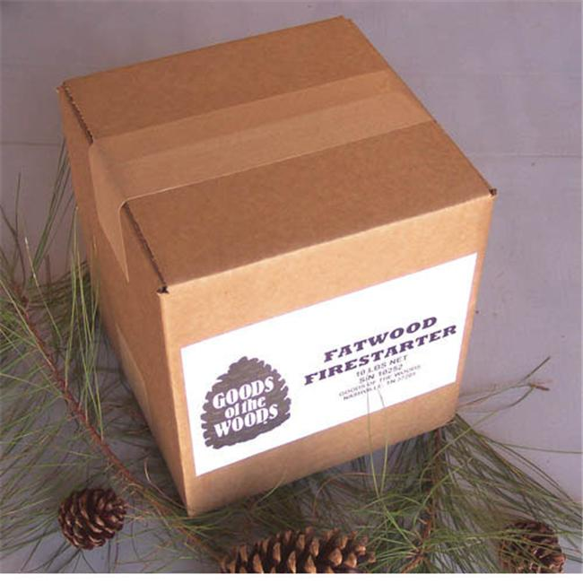 Goods Of The Woods 10252 Fatwood Bulk in Corrugated Box