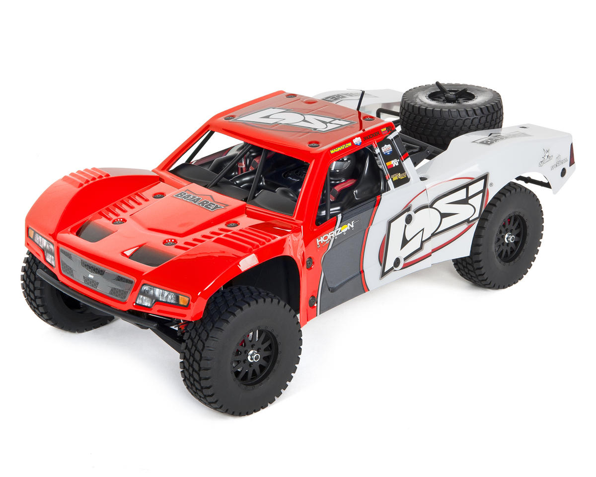 Losi 03008T1 1:10 Baja Rey AVC Ready-to-Run 4WD Trophy Truck (Red) by Losi