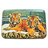 Tigers RFID Secure Theft Protection Credit Card Armored Wallet  Wildlife -