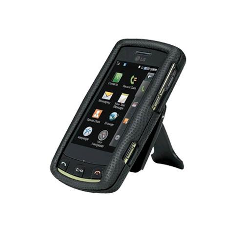 Body Glove - Snap On Case for LG UX700 Bliss - Black