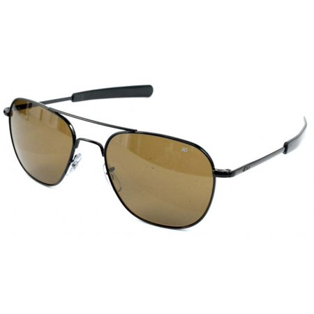 American Optical Original Pilot Bayonet 52 Black Cos Sunglasses 30165 e0479dee745e