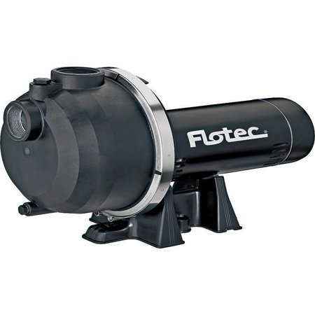 High Volume Water Pump - Flotec FP5172-08 Self Priming High Capacity 1.5 HP Sprinkler Pump