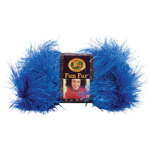 Lion Brand Fun Fur Yarn, Available in Multiple Colors
