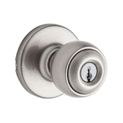 Kwikset 400P Security Series Polo Single Cylinder Keyed Entry Door Knobset