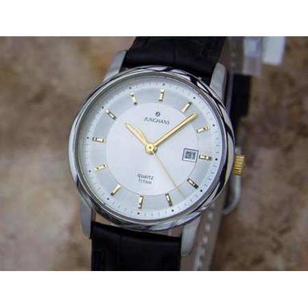 Junghans Ladies Made in Germany Titanium Ladies Luxury Watch c2000 Y133 (German Watches For Women)