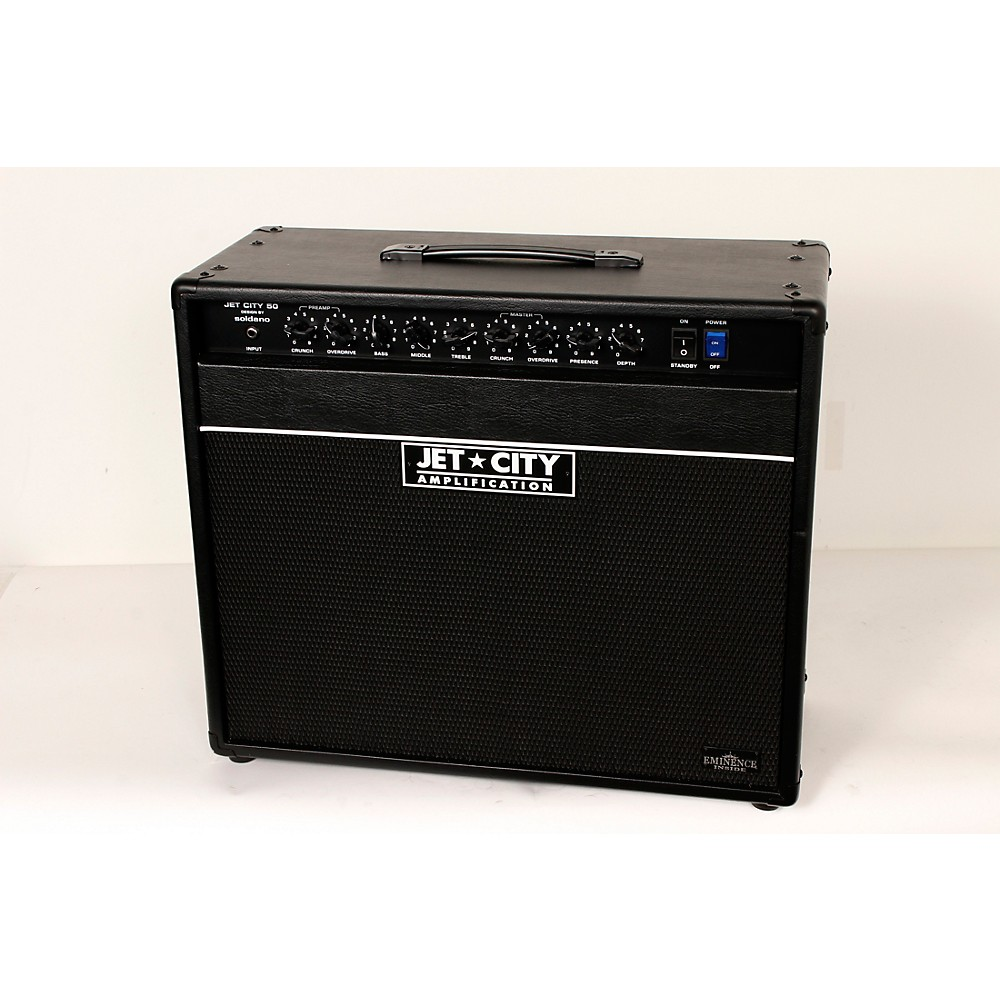 Jet City Amplification JCA5012C 50W 1x12 Tube Guitar Combo Amp Level 2 Black 888366031681 by Jet City Amplification