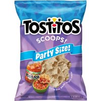 Tostitos Scoops! Tortilla Chips, Party Size, 14.5 oz Bag