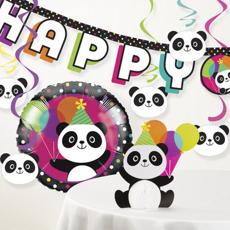 The Party Aisle Panda Party Decoration Kit