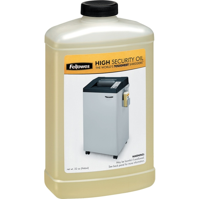 Fellowes Powershred® High Security Shredder Oil 32 Oz. Bottle 3505801
