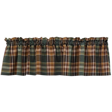 Wood River Valance (Best River's Edge Products Curtains)