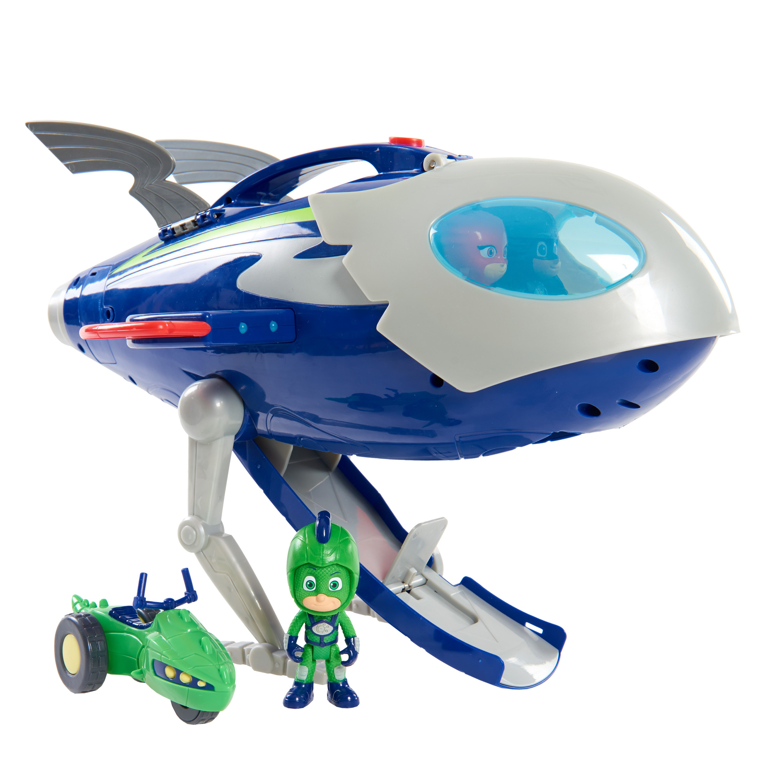 PJ Masks Super Moon adventure HQ Rocket Playset