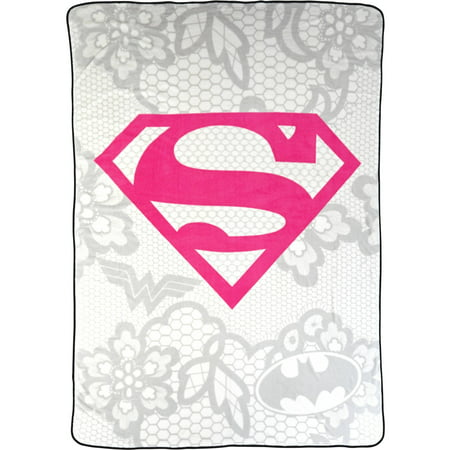 Warner Bros Justice League Awesome Girl Twin Blanket, 1 Each
