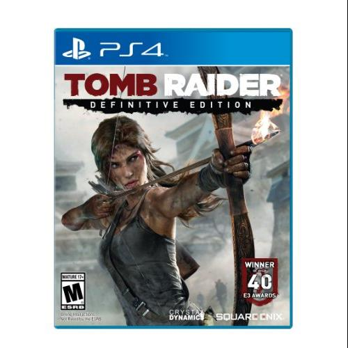 Square Enix Tomb Raider: Definitive Edition - Action/adventure Game - Playstation 4 (91380_2)