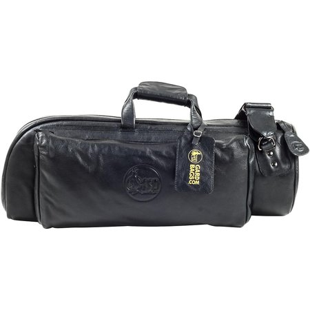 Gard Mid-Suspension Trumpet Gig Bag 1-MLK Black Ultra Leather