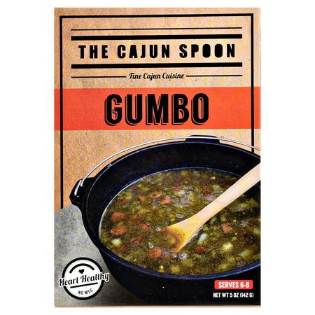 (4 Pack) CAJUN SPOON GUMBO