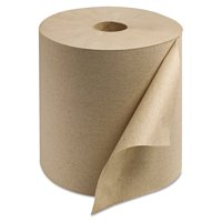 """Tork Universal Hand Towel Roll, 1-Ply, Natural, 800 ft x 7.9"""", 6 Roll/CT RK8002"""