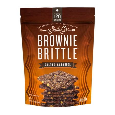 Sheila G's Brownie Brittle Salted Caramel, 5.0 OZ ...