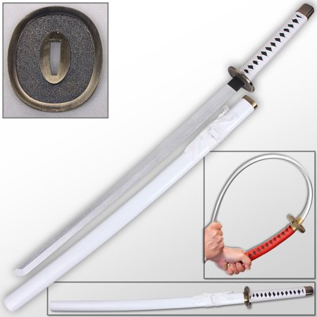 One Piece Anime FOAM Sword & Saya Wado Ichimonji Roronoa Zoro Cosplay White