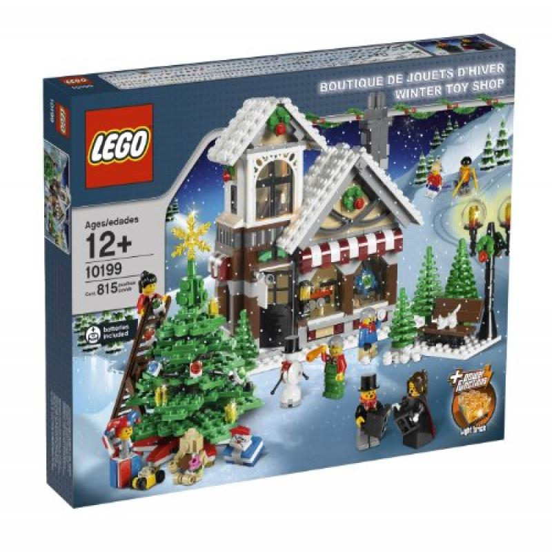 Noxon LEGO Christmas Winter Village Winter Toy Shop Exclu...