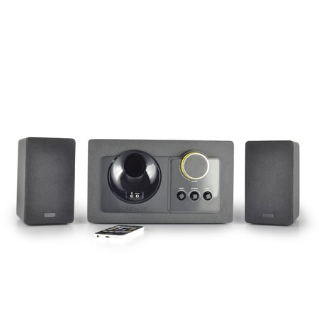 Thonet and Vander Grub Bluetooth Gaming Speakers, 2.1 System, 240 Watts  Designed in a 50s Retro look (240 System)