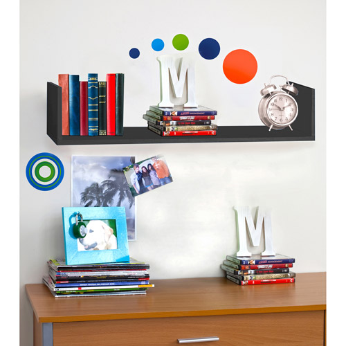 Urban Shop Hanging U-Shelf, Multiple Colors Available