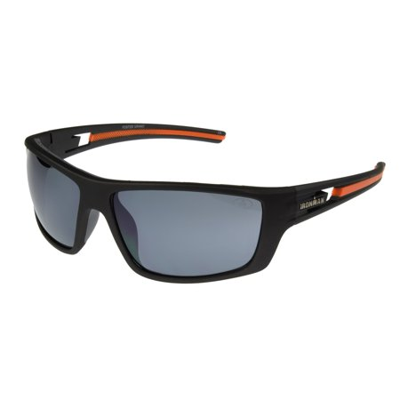 IRONMAN Men's Gray Rectangle Sunglasses PP06 ()