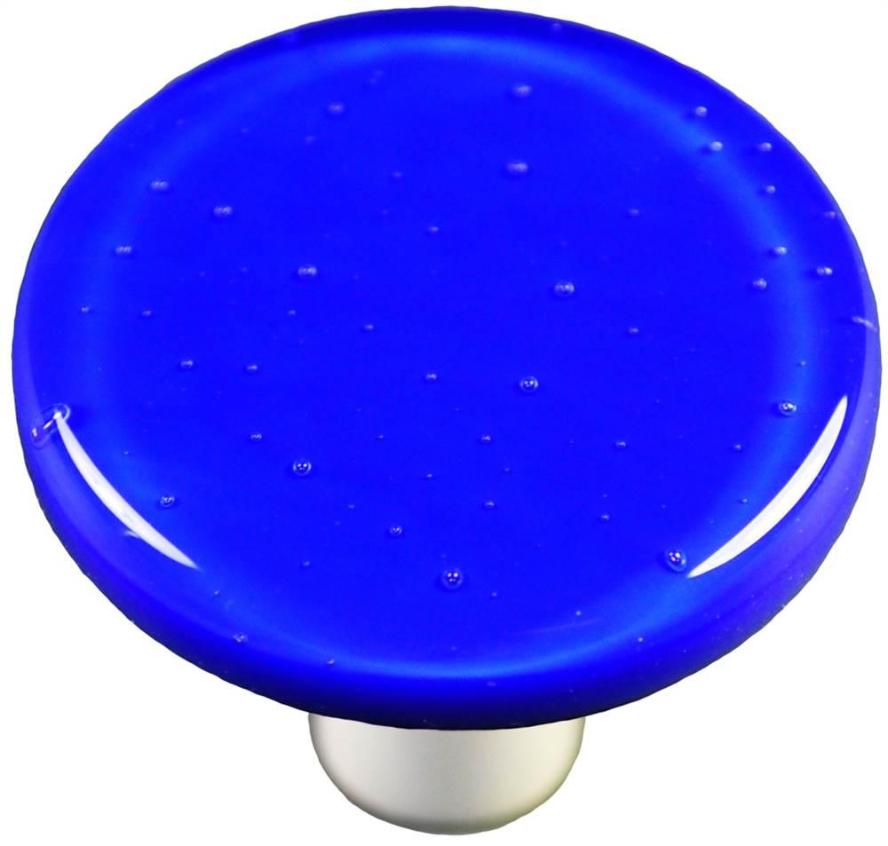 Round Knob in Deep Cobalt Blue (Aluminum)