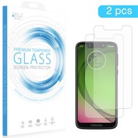 Motorola TSPMOTG7Y-2 G7 Play Tempered Glass Screen Protector 0.26 mm Arcing - 2 Piece