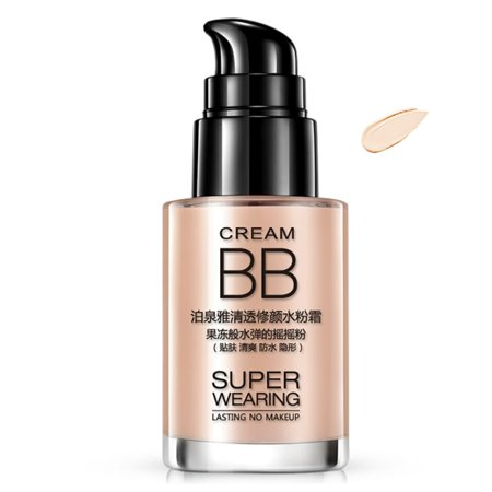 Waterproof BB Cream Makeup Concour Foundation Moisturizing Face Concealer