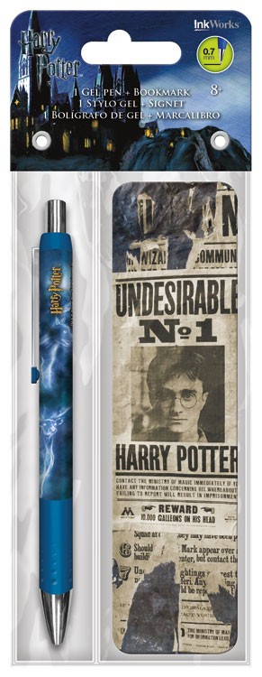 Gel Pen + Bookmark   Harry Potter   Packs Toys Gifts Set Stationery New  Iw3585