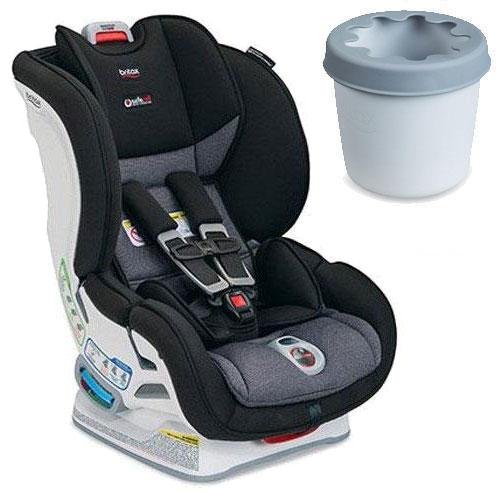 Britax E1A386LK - Marthon Clicktight Convertible Car Seat With Cup Holder