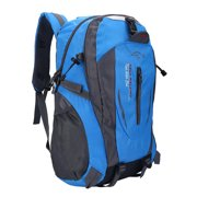 40L Waterproof Hiking Backpack Shoulder Bag for Outdoor Sports Camping Climbing Hiking Travelling Blue