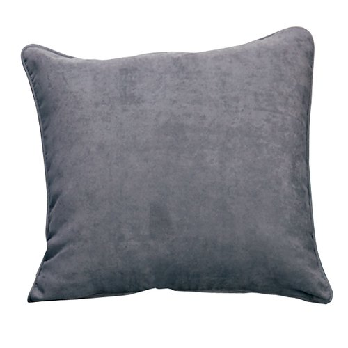 Sure Fit Soft Suede Self Cord Throw Pillow