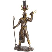 11 Inch Egyptian Thoth Mythological God Resin Statue Figurine