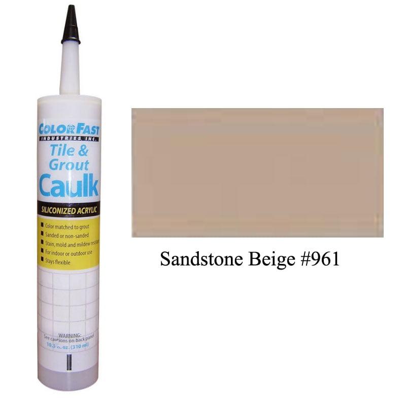 Latex Colored Caulk - TEC Color Line: Sandstone Beige Unsanded