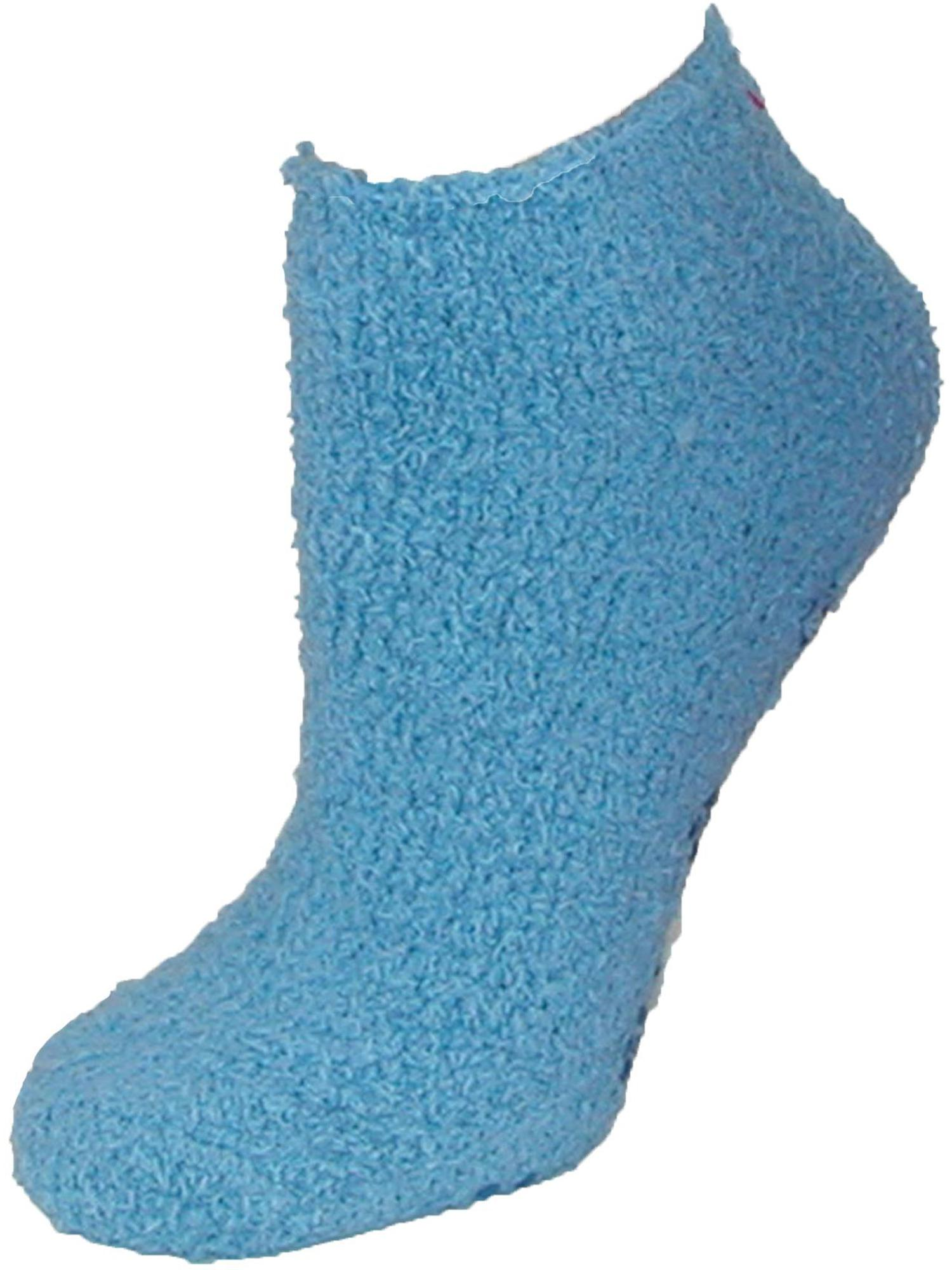 Women's Low Cut Non Slip Slipper Socks (3 Pair Pack), Size: one size