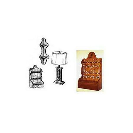 Spoon Lamp (Woodworking Project Paper Plan to Build Spoon Rack, Shelf, Ratchet)