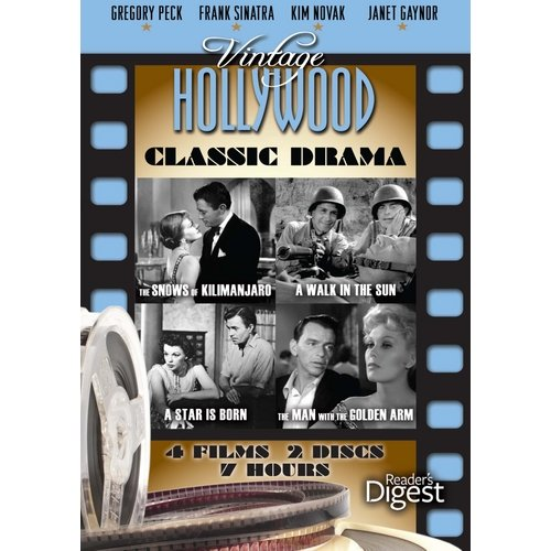 Vintage Hollywood: Classic Drama - The Snows Of Kilimanjaro / A Walk In The Sun / A Star Is Born / The Man With The Golden Arm