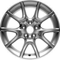 PartSynergy New Aluminum Alloy Wheel Rim 17 Inch Fits 2013-2016 Dodge Dart 5-139.7mm 10 Spokes