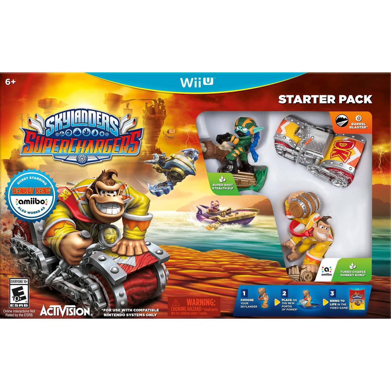 Skylanders Superchargers Starter Kit (Wii U)