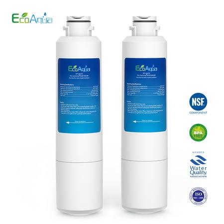 2 Pack EcoAqua EFF-6027 Replacement for Samsung DA29-00020B, HAF-CIN/EXP, 46-9101